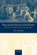 Cover for Pope and the Destiny of the Stuarts