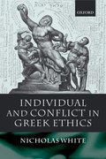 Cover for Individual and Conflict in Greek Ethics
