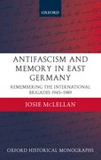 Cover for Antifascism and Memory in East Germany