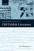 Cover for Introduction to Old Yiddish Literature
