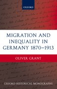 Cover for Migration and Inequality in Germany 1870-1913