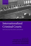 Cover for Internationalized Criminal Courts