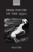 Cover for Irish Poetry of the 1930s