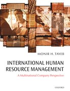 Cover for International Human Resource Management