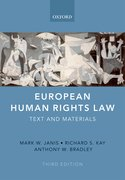 Cover for European Human Rights Law