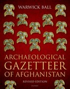Cover for Archaeological Gazetteer of Afghanistan