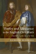 Cover for Poetry and Allegiance in the English Civil Wars