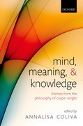 Cover for Mind, Meaning, and Knowledge