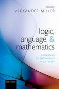 Cover for Logic, Language, and Mathematics