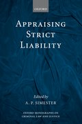 Cover for Appraising Strict Liability