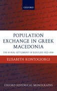 Cover for Population Exchange in Greek Macedonia