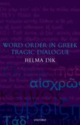 Cover for Word Order in Greek Tragic Dialogue