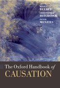 Cover for The Oxford Handbook of Causation