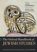 Oxford Handbook of Jewish Studies Cover Image