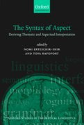 Cover for The Syntax of Aspect