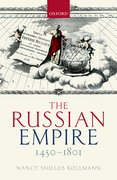 Cover for The Russian Empire 1450-1801