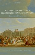 Cover for Walking the Streets of Eighteenth-Century London