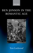 Cover for Ben Jonson in the Romantic Age