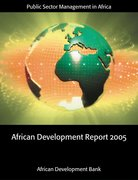 Cover for African Development Report 2005