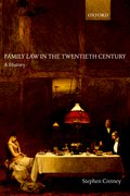 Cover for Family Law in the Twentieth Century