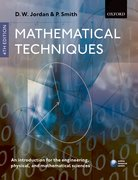 Mathematical Techniques An Introduction for the Engineering, Physical, and Mathematical Sciences