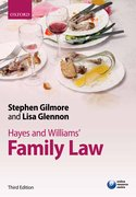 Gilmore & Glennon: Hayes and Williams' Family Law 3e