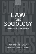 Cover for Law and Sociology
