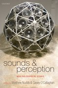 Cover for Sounds and Perception