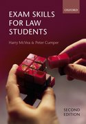 Cover for Exam Skills for Law Students