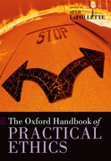 Cover for The Oxford Handbook of Practical Ethics