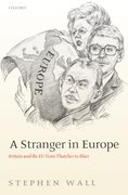 Cover for A Stranger in Europe