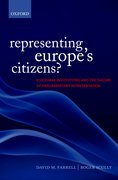 Cover for Representing Europe