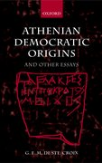 Cover for Athenian Democratic Origins