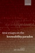 Cover for New Essays on the Knowability Paradox
