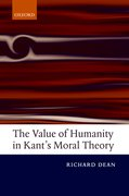 Cover for The Value of Humanity in Kant