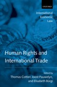 Cover for Human Rights and International Trade