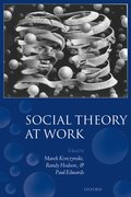 Cover for Social Theory at Work