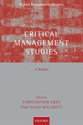 Cover for Critical Management Studies