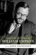 Cover for Selected Letters of William Empson