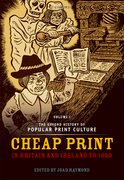 Cover for The Oxford History of Popular Print Culture