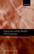Cover for Experience and the World