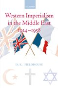 Cover for Western Imperialism in the Middle East 1914-1958