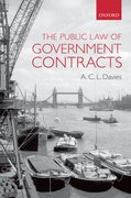 Cover for The Public Law of Government Contracts