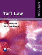 Hodgson & Lewthwaite: Tort Law Textbook 2e