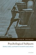 Cover for Psychological Subjects