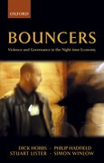 Bouncers Violence and Governance in the Night-Time Economy