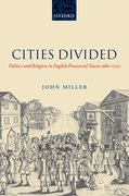 Cover for Cities Divided