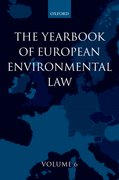 Yearbook of European Environmental Law Volume 6