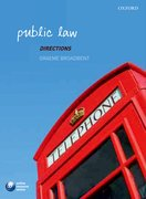 Cover for Public Law Directions