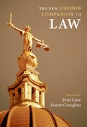 Cover for The New Oxford Companion to Law